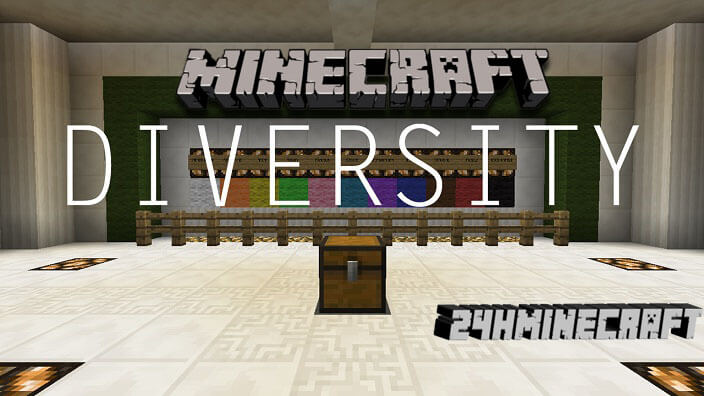 Diversity Map for Minecraft