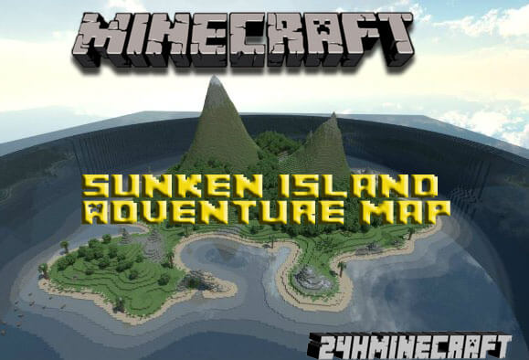 The Sunken Island Adventure Map for MC (1.8.9/1.8)