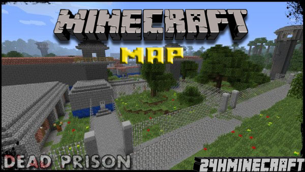Dead prison map for minecraft 1 8 9 1 8 1 for Crafting dead mod download