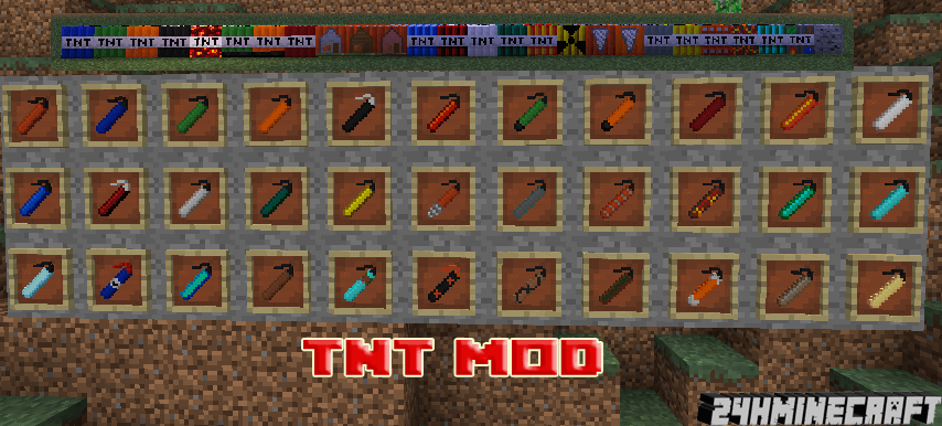Too Much TNT Mod 1.8