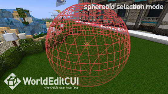 WorldEdit CUI for Minecraft (1.11.2/1.10.2/1.9.4) – Forge Edition Mod