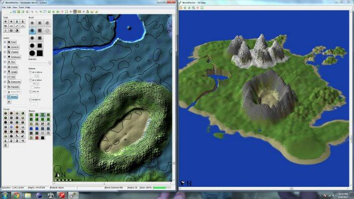 WorldPainter Tool Minecraft