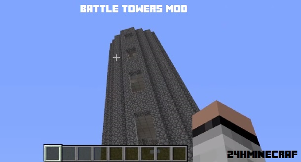 Battle Towers Mod for Minecraft (1.11.2/1.10.2/1.9)