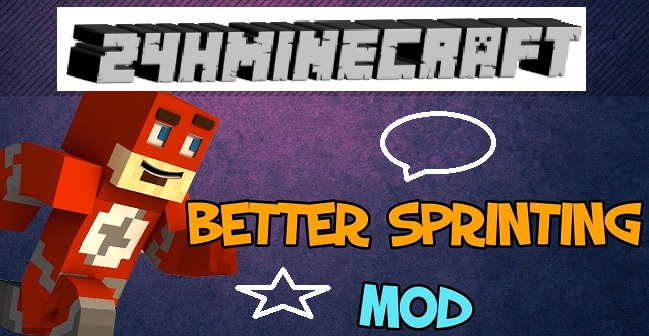 Better Sprinting Mod 1.8.9 Preview
