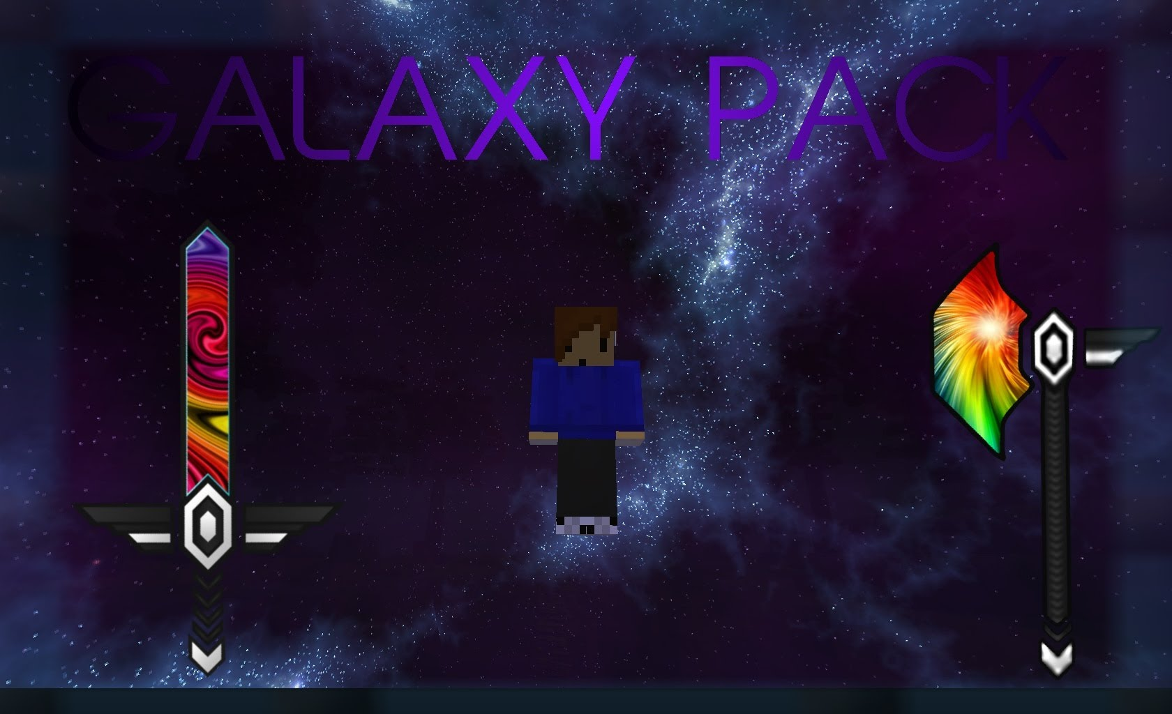 Galaxy Pvp Resource Pack For Minecraft 1 9 4 1 9 1 8 9 1 7 10 24hminecraft Com
