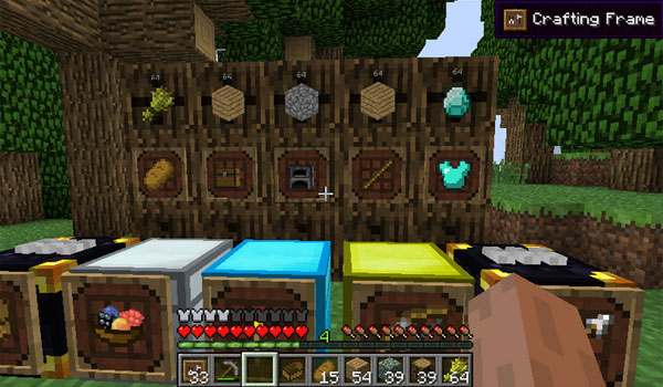 super crafting frame crafting frame mod for minecraft 1 11 1 10 2 1 9 3034