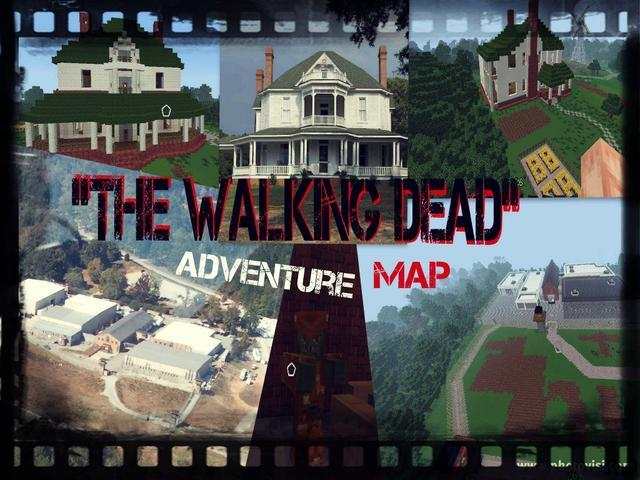The Walking Dead Map (1.9/1.8.9) – Minecraft Map