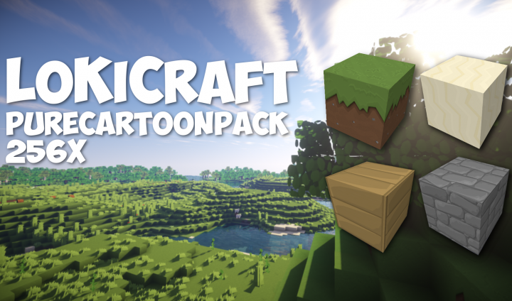 lokicraft-pure-cartoon-resource-pack