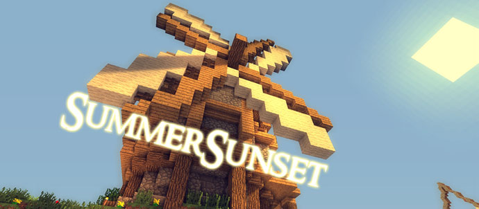 Summer-Sunset-Shaders-Mod