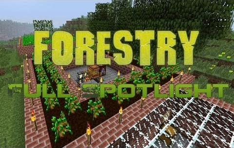 Forestry Mod for Minecraft (1.11.2/1.10.2/1.9.4/1.7.10)
