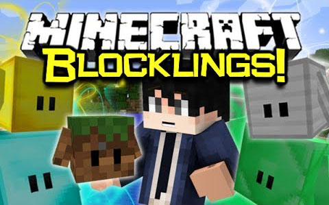 Blocklings Mod for Minecraft (1.11.2/1.10.2/1.9.4)