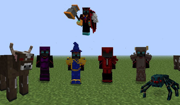 RPG Inventory Mod for Minecraft (1.10.2/1.7.10/1.7.2)