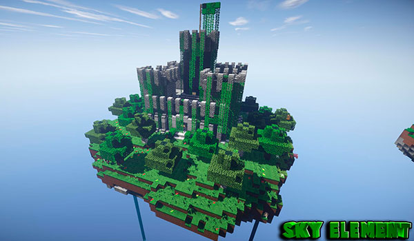 Sky Element Map for Minecraft (1.10.2/1.8.9)