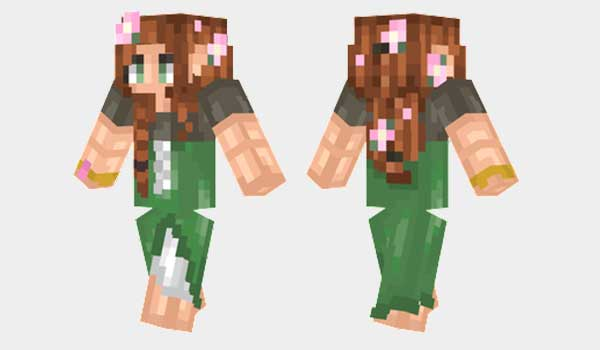How to install elven girl skin for minecraft download the skin on your