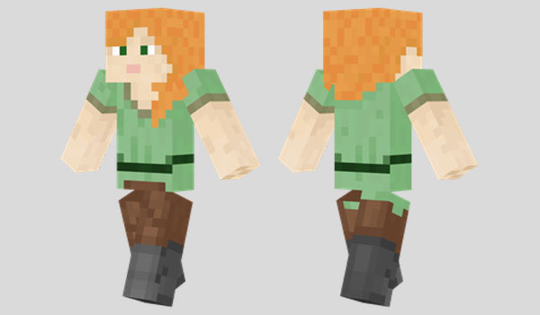 Alex Skin for Minecraft