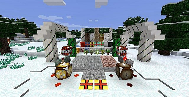 Christmas Resource Pack for Minecraft [1.11/1.10.2]