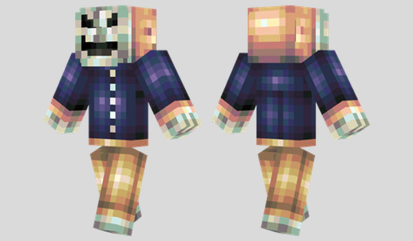 Mask of Hate Skin for Minecraft