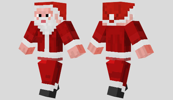 Santa Claus Skin for Minecraft