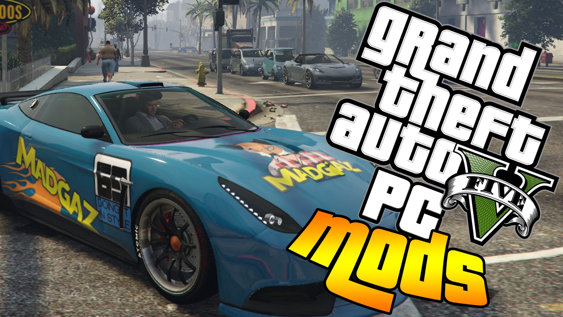 GTA 5 PAINT JOBS Mods